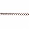 Dazzle-it Curb Chain 3X2mm Antique Copper 1M /Card